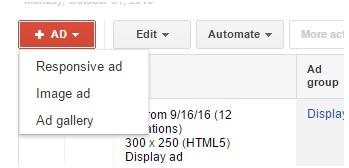 Dynamic Remarketing - Ad Type