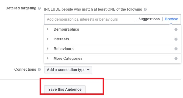 Save the audience