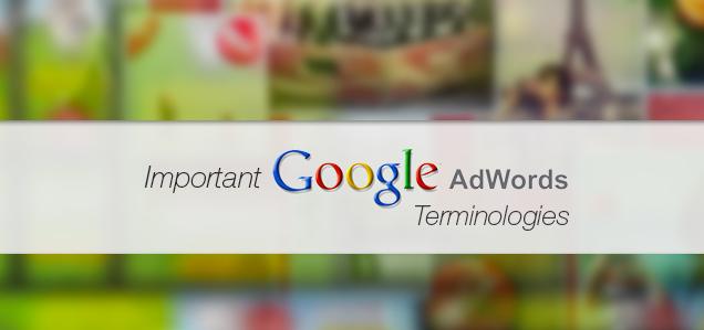 Adwords Terminologies, Nomenclature & Formulas