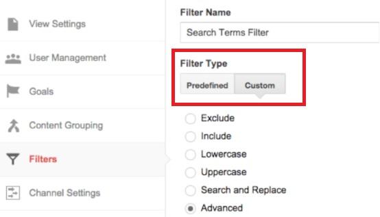 Google Analytics - Advanced Filters
