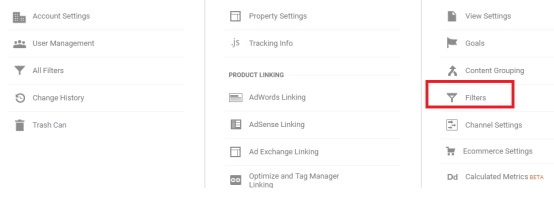 Google Analytics - Filters
